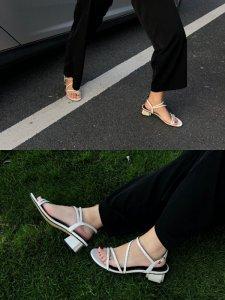 夏季职场万能搭配单品上脚超舒适的凉鞋