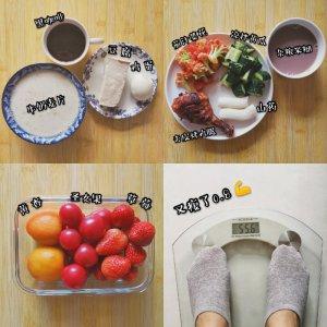 减肥打卡第4⃣天|饮食+运动|排毒养颜果汁