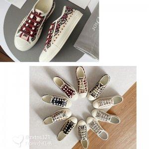Dior迪奥帆布鞋 夏季新款