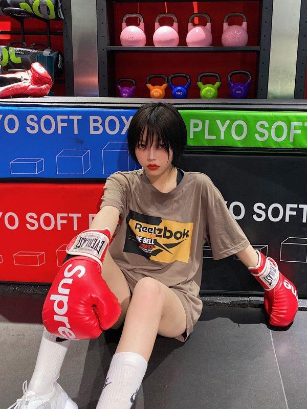 30天减八斤!我做到了! 拳击girl上线健身