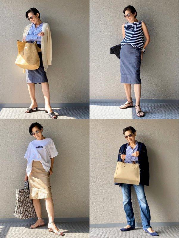穿搭会穿衣的日本奶奶休闲职场通勤装