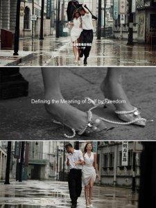 纪实婚纱照 电影感婚纱照情绪感婚纱照新品