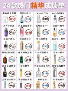 新品抗老精华/抗皱精华抗初老精华测评/护肤