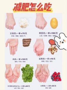 减脂怎么吃?超简单手掌饮食法了解下