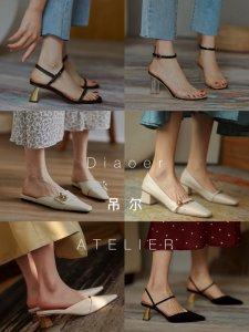 私藏5家法式气质女生小众 复古尖头女鞋