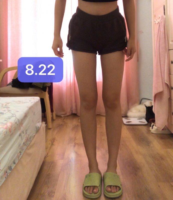 亲测减肥瘦腿记录打卡后五个月!惊人