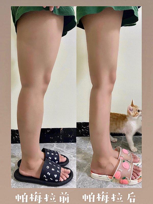 帕梅拉瘦腿效果太感人了顽固粗腿爆瘦
