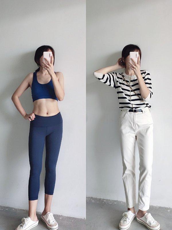 跳绳瘦了15斤以后的穿衣体验:随便穿