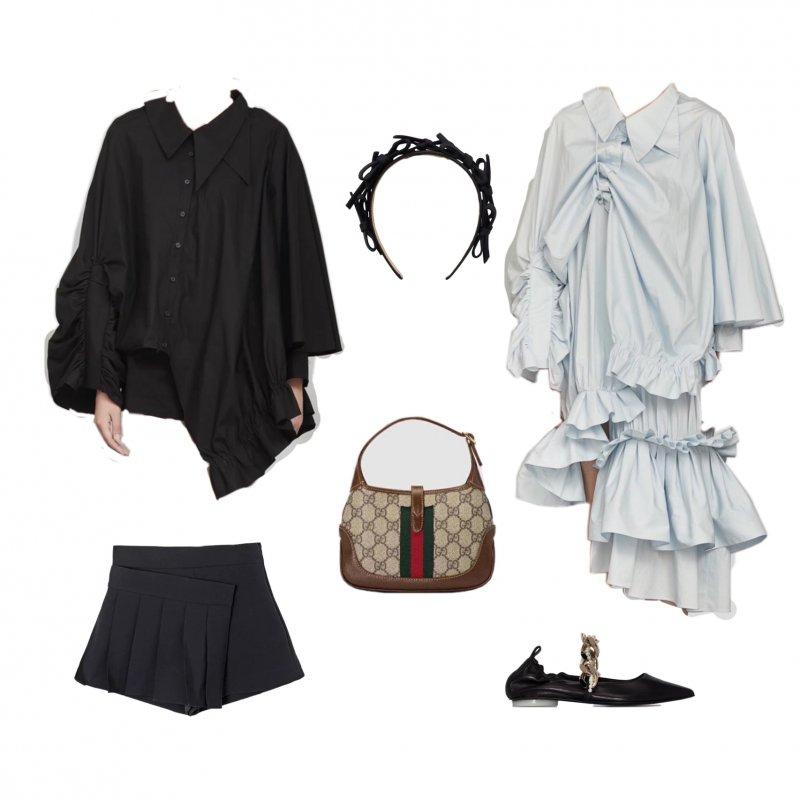穿搭灵感八月乱穿衣吊带毛衣一起穿-穿衣搭配-辣妈女性网