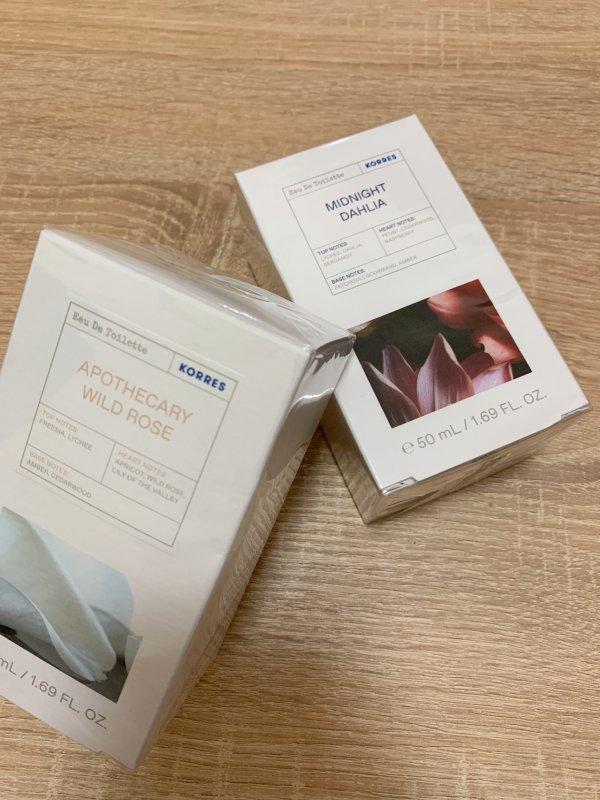 希腊品牌Korres新品香水