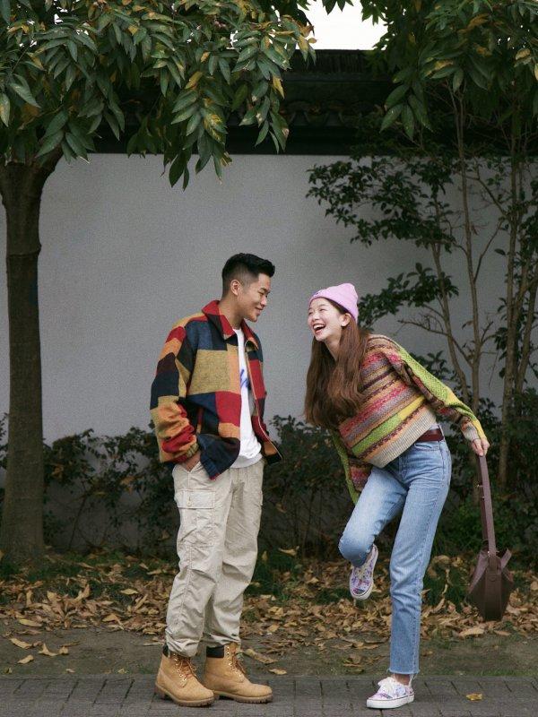 OOTD秋冬情侣穿搭和他一起好好穿衣!