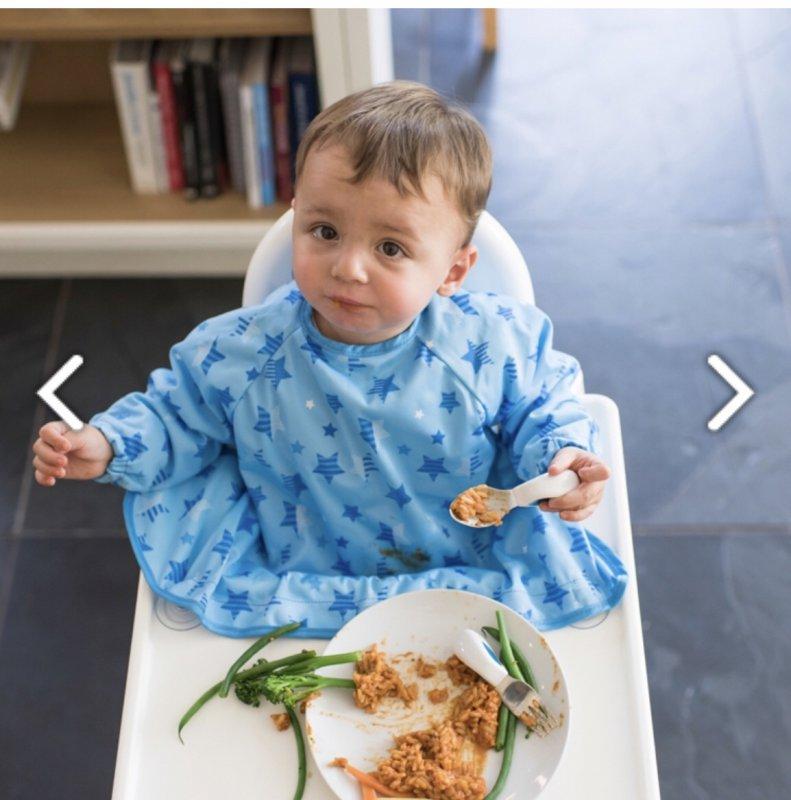 法国宝宝自主进食勺子和反穿衣分享