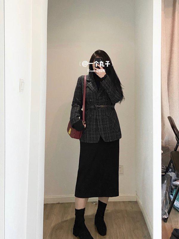 微胖穿搭|140斤 冬日高级感 气质穿搭