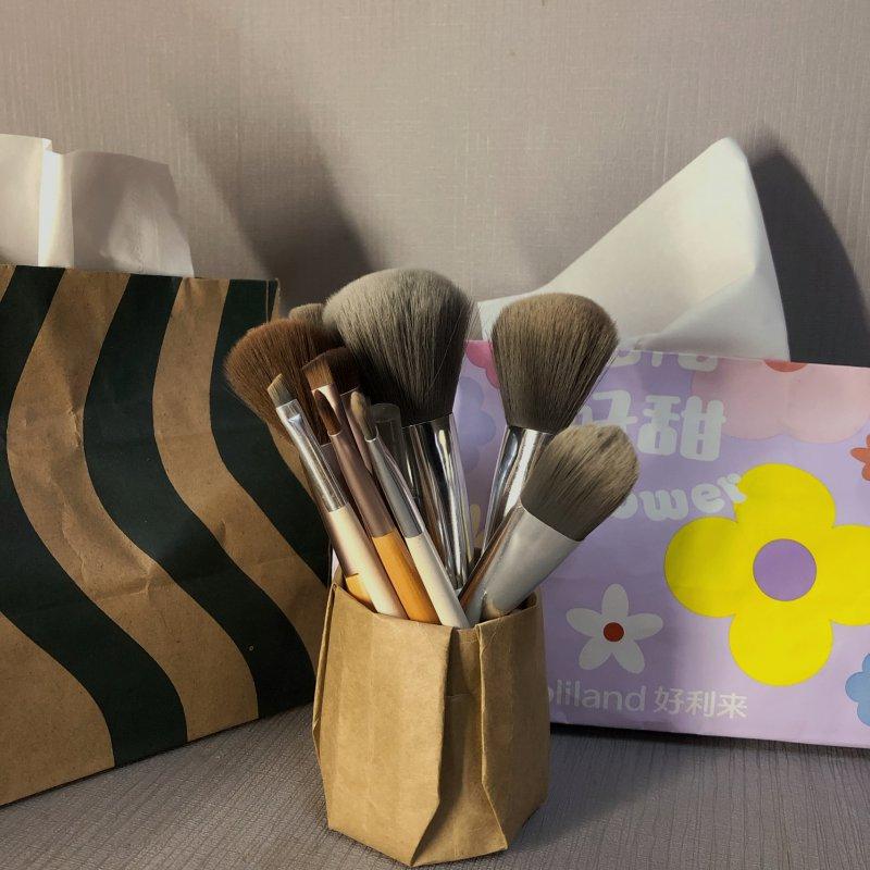 化妆刷收纳盒、笔盒教程来咯!!!