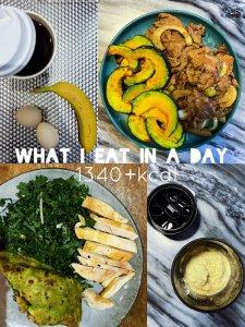 热量日记1上半身训练课表减脂一日饮食
