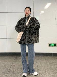 ootd3套在校大学生的日常保暖外套穿搭