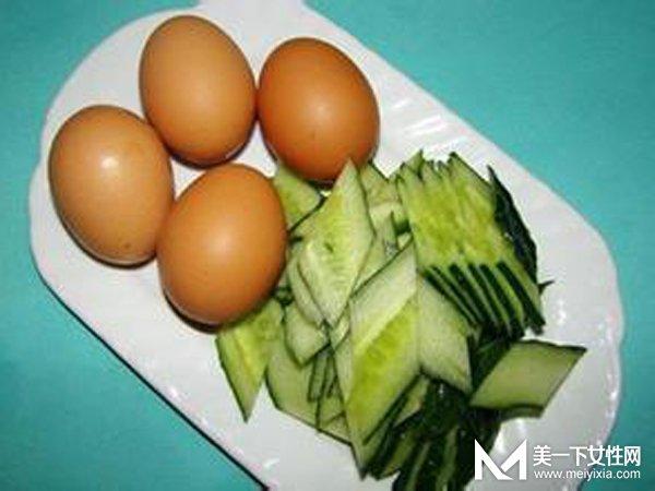 减肥食谱一周瘦10斤 黄瓜加鸡蛋让你想不瘦都难