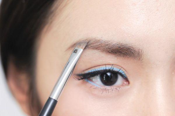 韩式一字眉画法步骤图解 教你时尚流行的韩国眉毛画法技巧