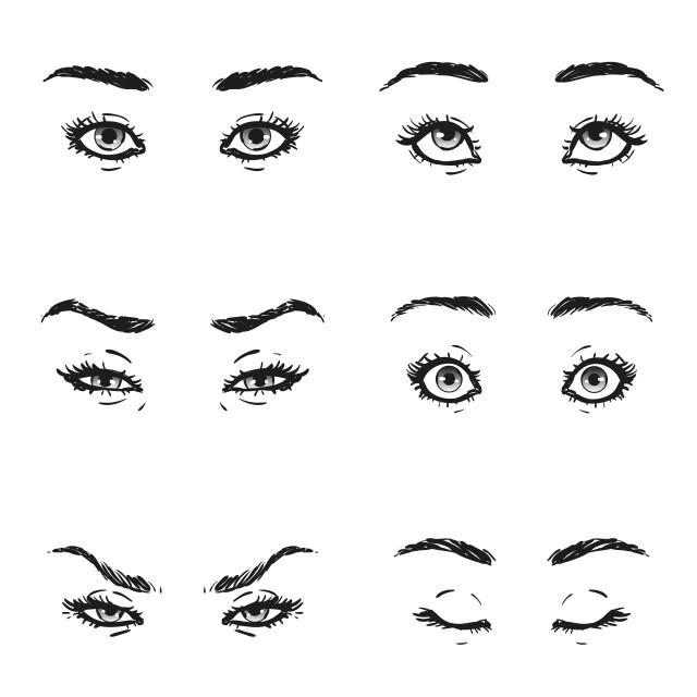 2019年时尚眉形大全图 详解各种眉形适合的人群