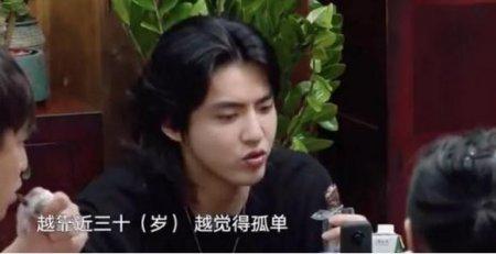 吴亦凡35岁前想脱单 直言年龄越大越觉得孤单
