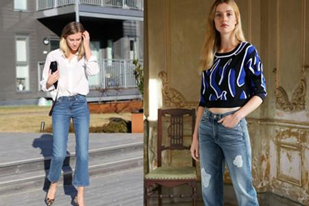 牛仔裤配什么上衣好看流行达人们都是这样穿的