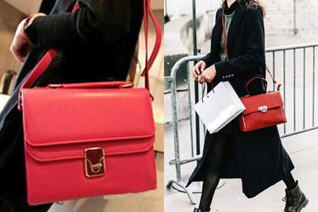 红色包包配什么颜色衣服 快来学学这些搭配技巧