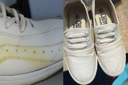 鞋子发黄怎么变白 学会这几招就搞定