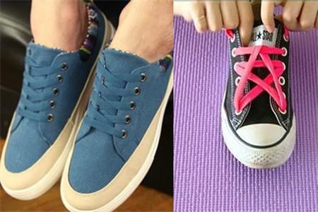 鞋带打结的方法 不同的鞋款式各异