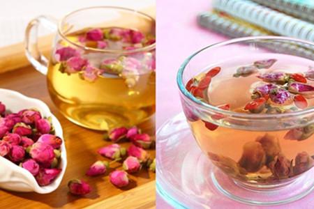 玫瑰花茶茶香浓厚 提神减肥广受欢迎
