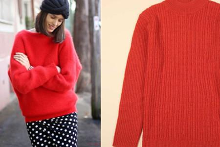 红毛衣怎么搭配 这几种穿法才好看