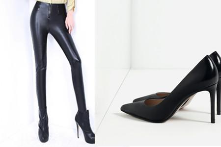 秋冬皮裤搭配 几款时尚样式值得选择