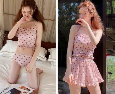 今年夏天少女心爆棚的七款泳衣 开启今夏装嫩模式