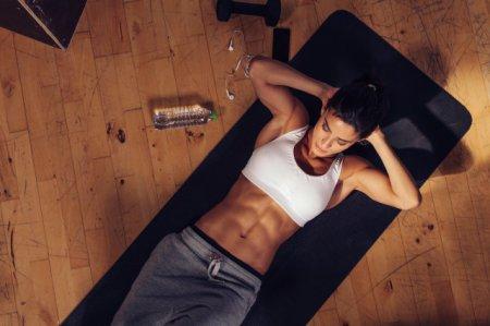 怎么做可以减掉肚腩?这6个动作收好 大肚子不再打扰