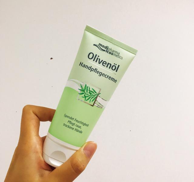 olivenol德丽芙橄榄柔润护手霜