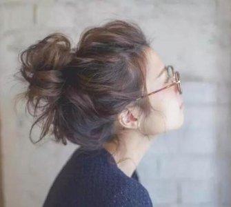 马尾辫简单、容易上手 丸子头类型有哪几种?