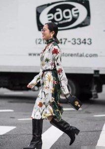 秋冬季节最离不开各种时髦的靴子了 矮个子女生穿鞋禁忌