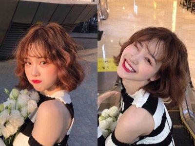 女生都是很喜欢把自己的头发折腾 韩系短发发型图片大全
