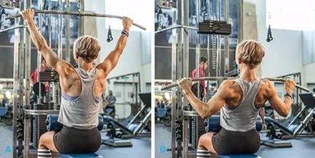 现在好多的朋友去健身房开始健身了 背肌训练方法和动作