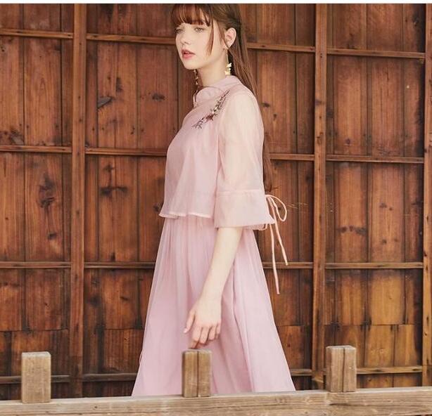古风连衣裙