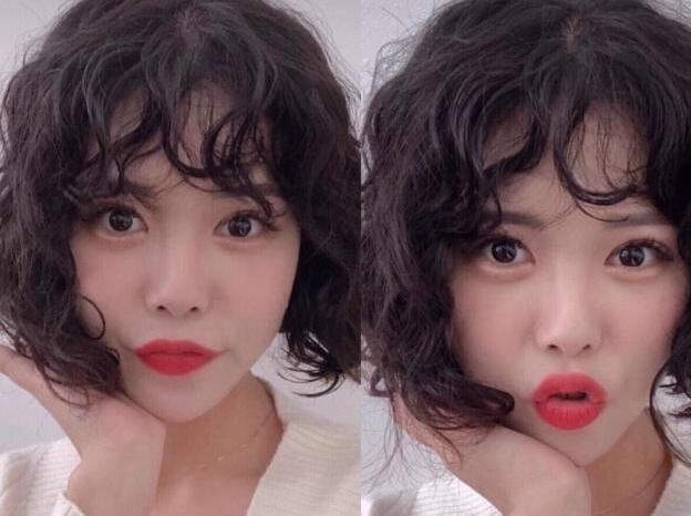 韩式复古风短发