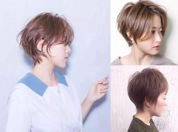 后脖剃短的发型