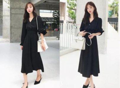 经典的黑色连衣裙 黑色连衣裙搭配什么颜色鞋子?