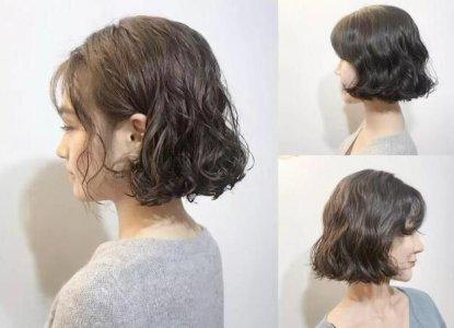 2021年到来 今年最流行的发型图片短发烫发