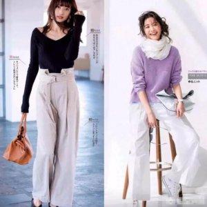 女黑大衣可以搭配白色的阔腿裤 女黑大衣配什么裤子好看?