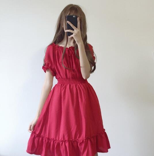 收腰的裙子