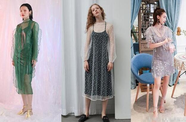 夏季里自然就少不了裙子的出现了网纱裙搭配什么衣服好看