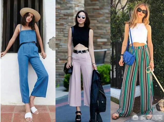 阔腿裤流行至今经久不衰 今年流行的阔腿裤怎么穿好看?