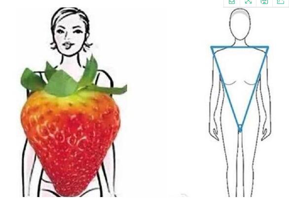 草莓妹 肩宽臀窄