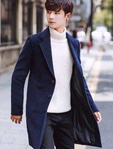 男人们穿上毛呢大衣气质不言而喻 男生毛呢大衣怎么搭配衣服好看?