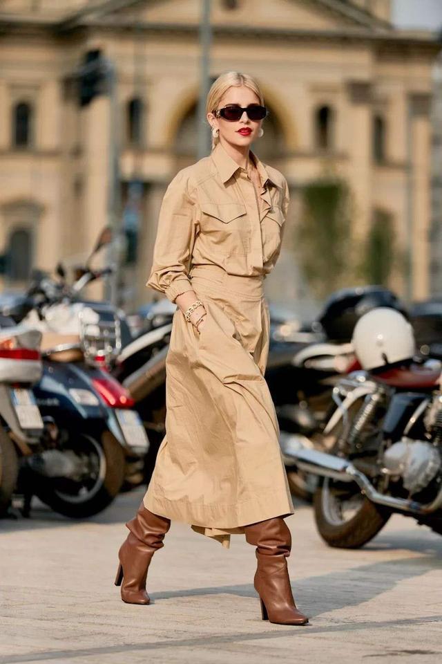 老年裙子50岁女人穿什么裙子好看